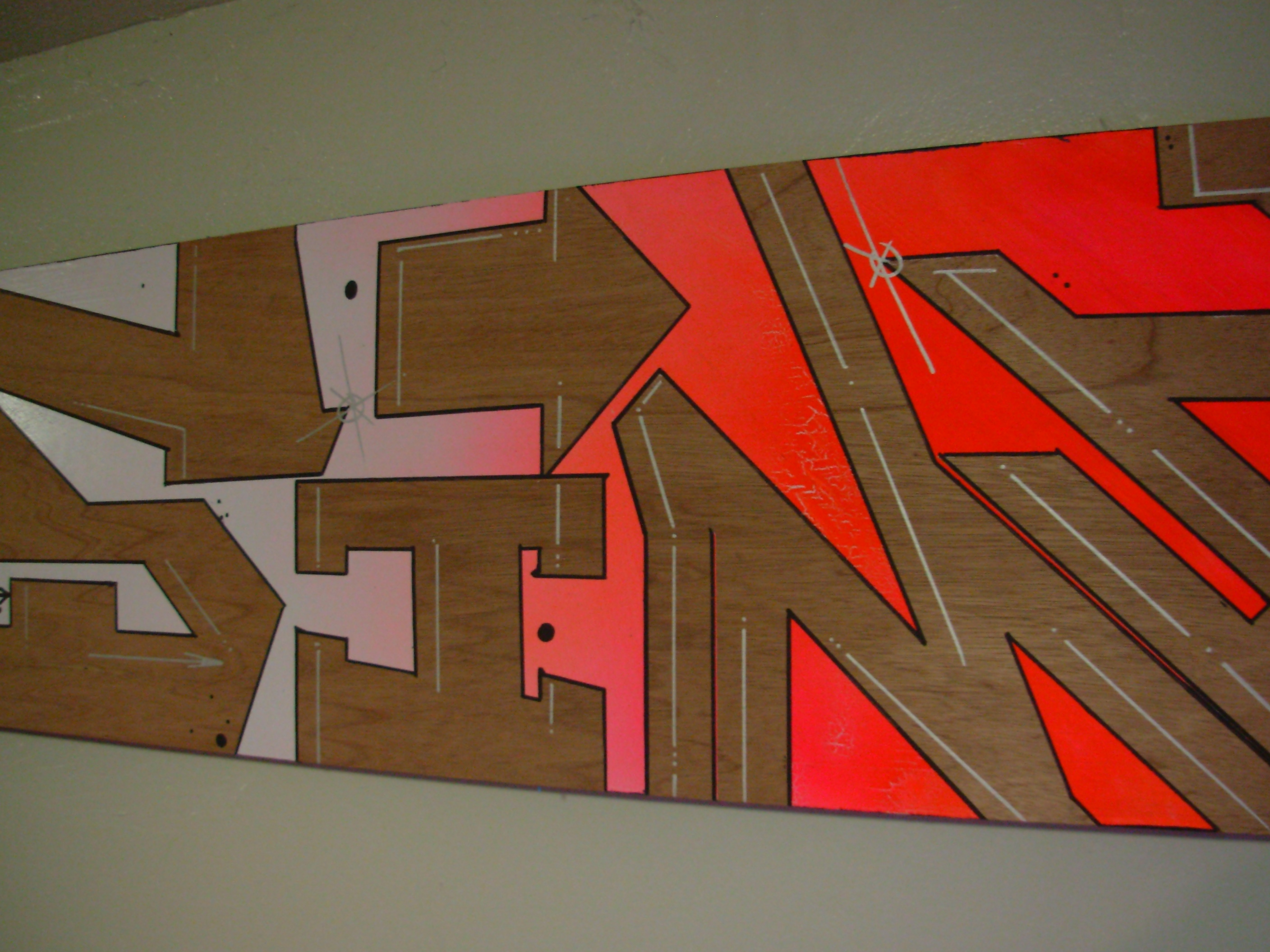 Graffiti art on wood - Here Are Some Detailed Shots I M Terrible With A Camera